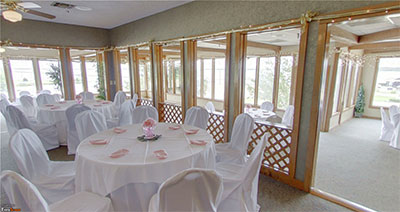 Photo of the Split Rock dining room